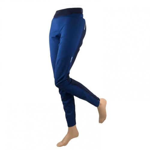ZIENER Damen Lang- Lauf Hose Tight NURA blau 964