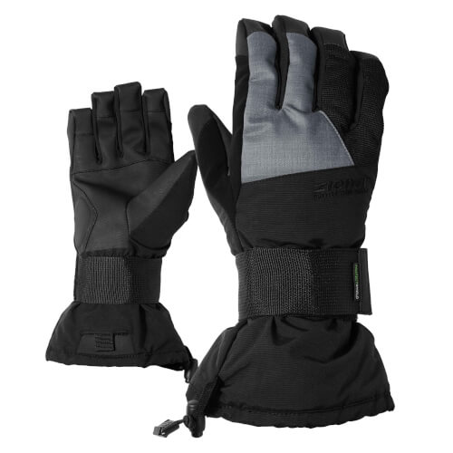 ZIENER Snowboard Handschuhe Merfo grau schwarz 12