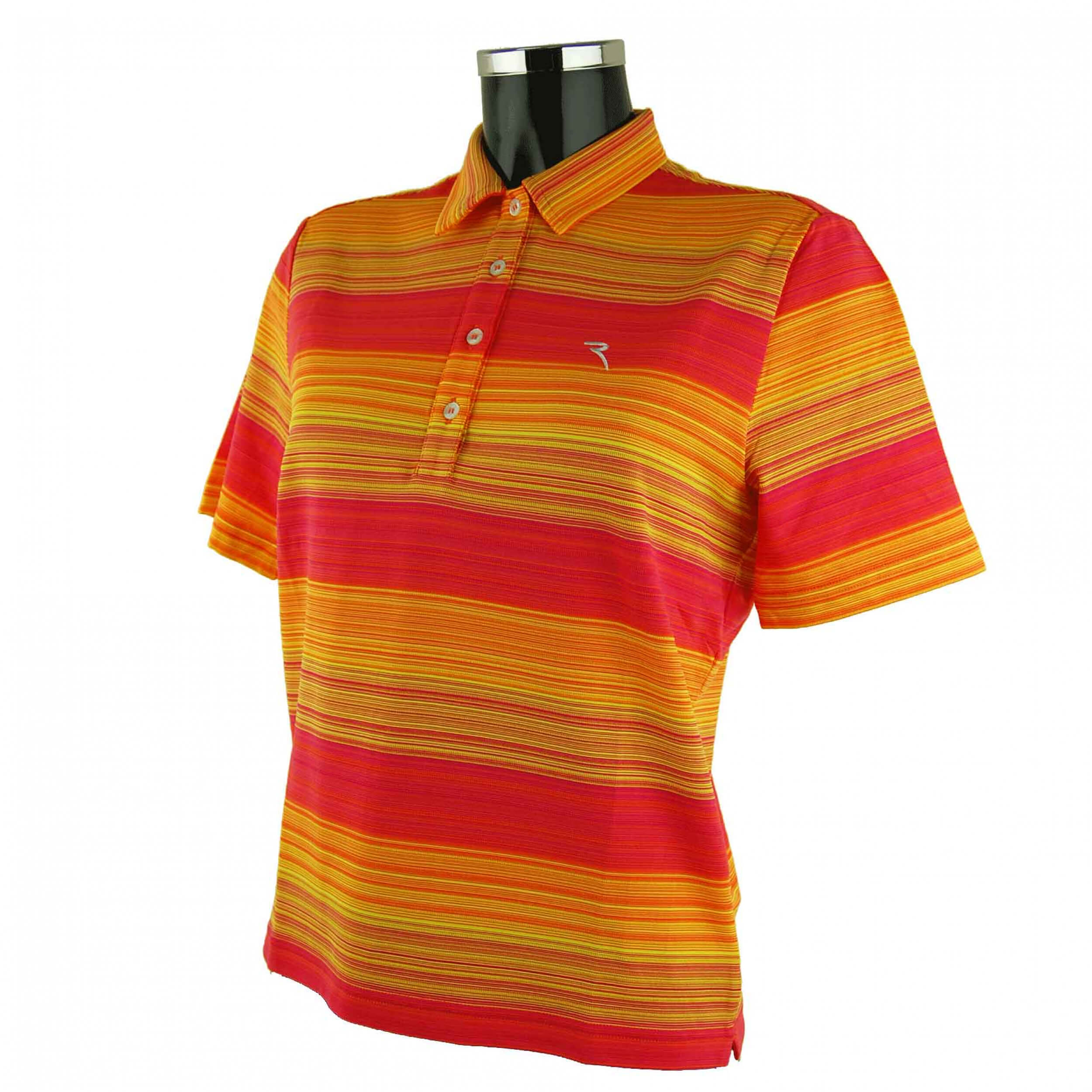 Chervo Damen Polo Ansmau DRY MATIC orange rot 998