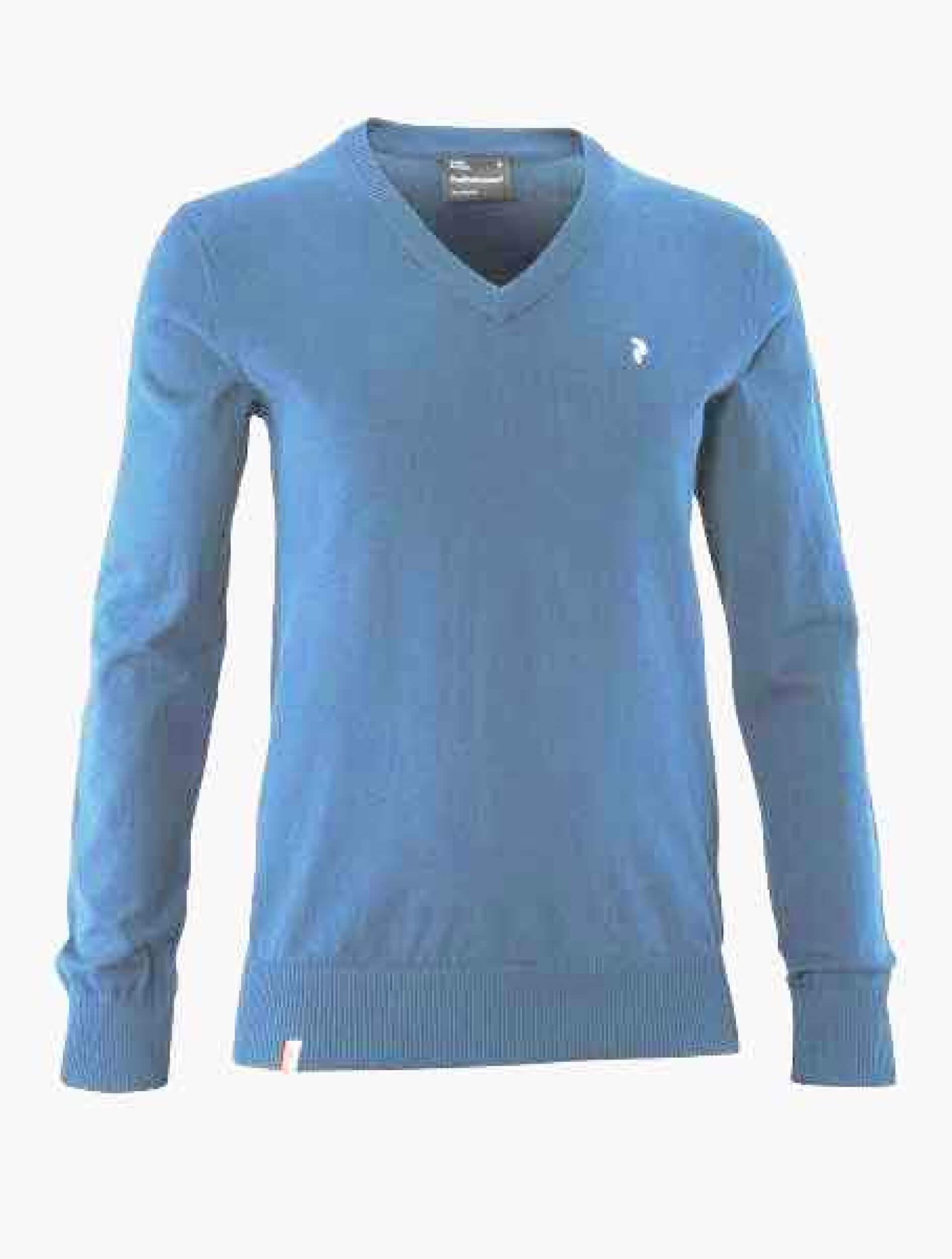Peak Performance Herren Strick Pullover Golf VN royal blau