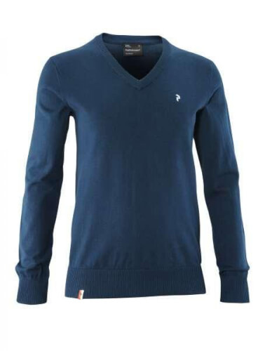 Peak Performance Herren Strick Pullover Golf VN dunkel blau