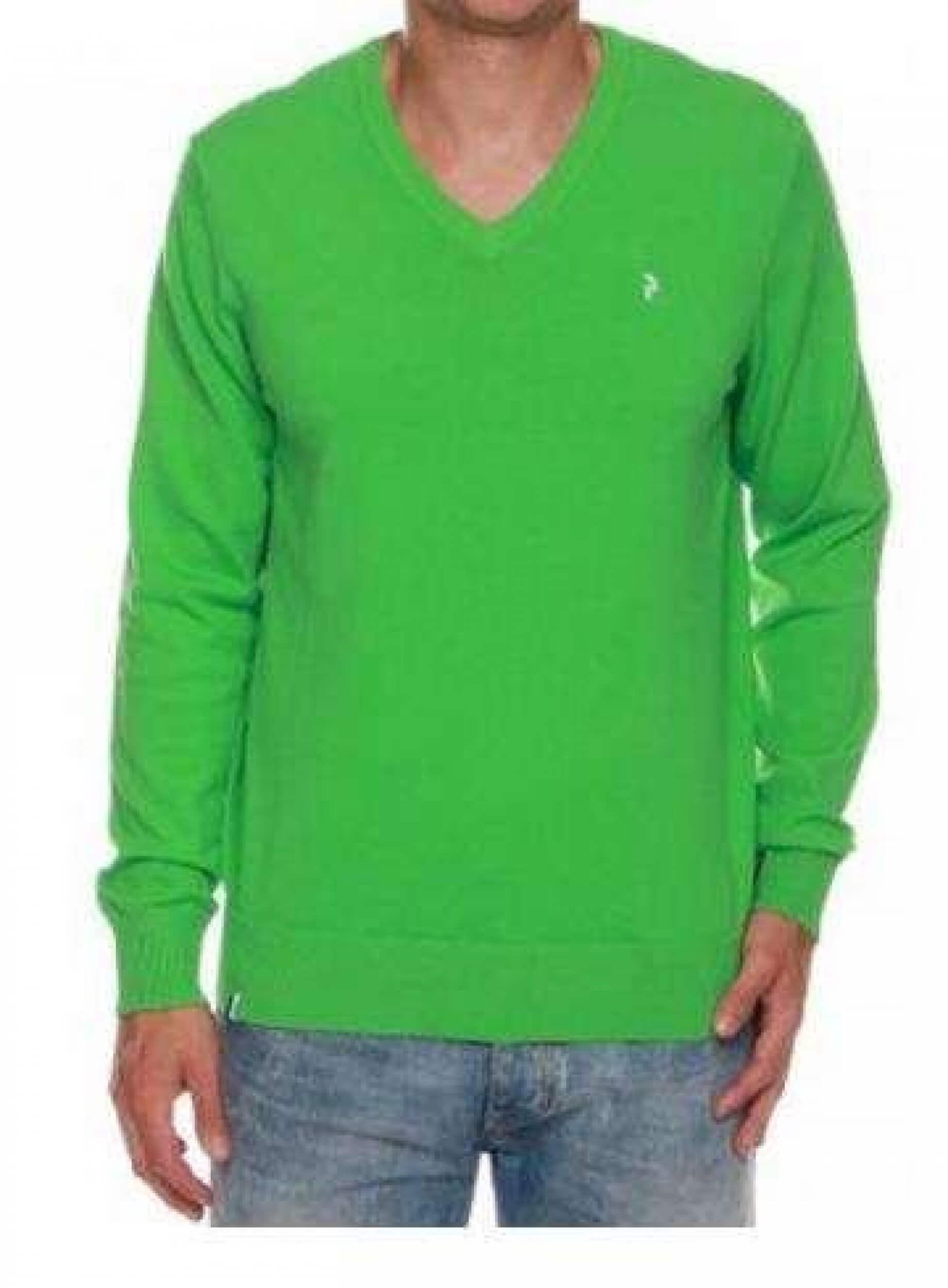 Peak Performance Herren Strick Pullover Golf VN grün