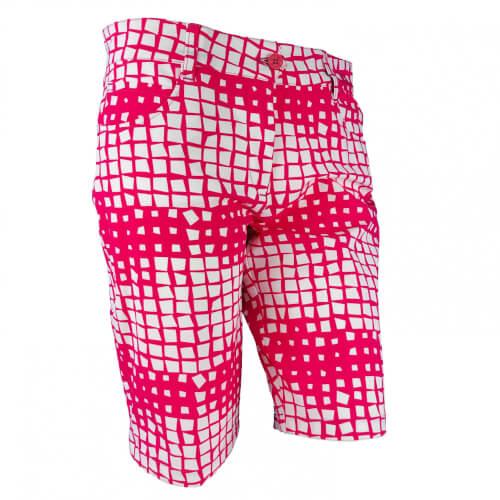 Chervo Damen Short Gamba DRY MATIC pink gemustert 23G