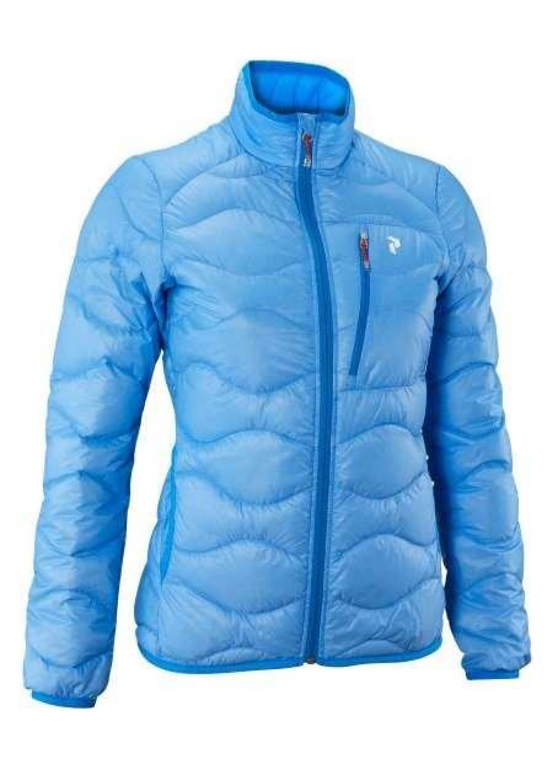 Details about Peak Performance Womens Outdoor Quilted Jacket Helium Light Blue New show original title
