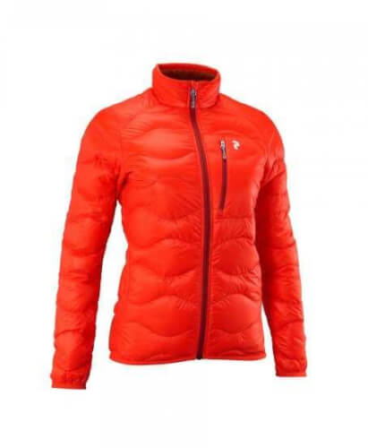 Peak Performance Damen Steppjacke Helium rot 5P5