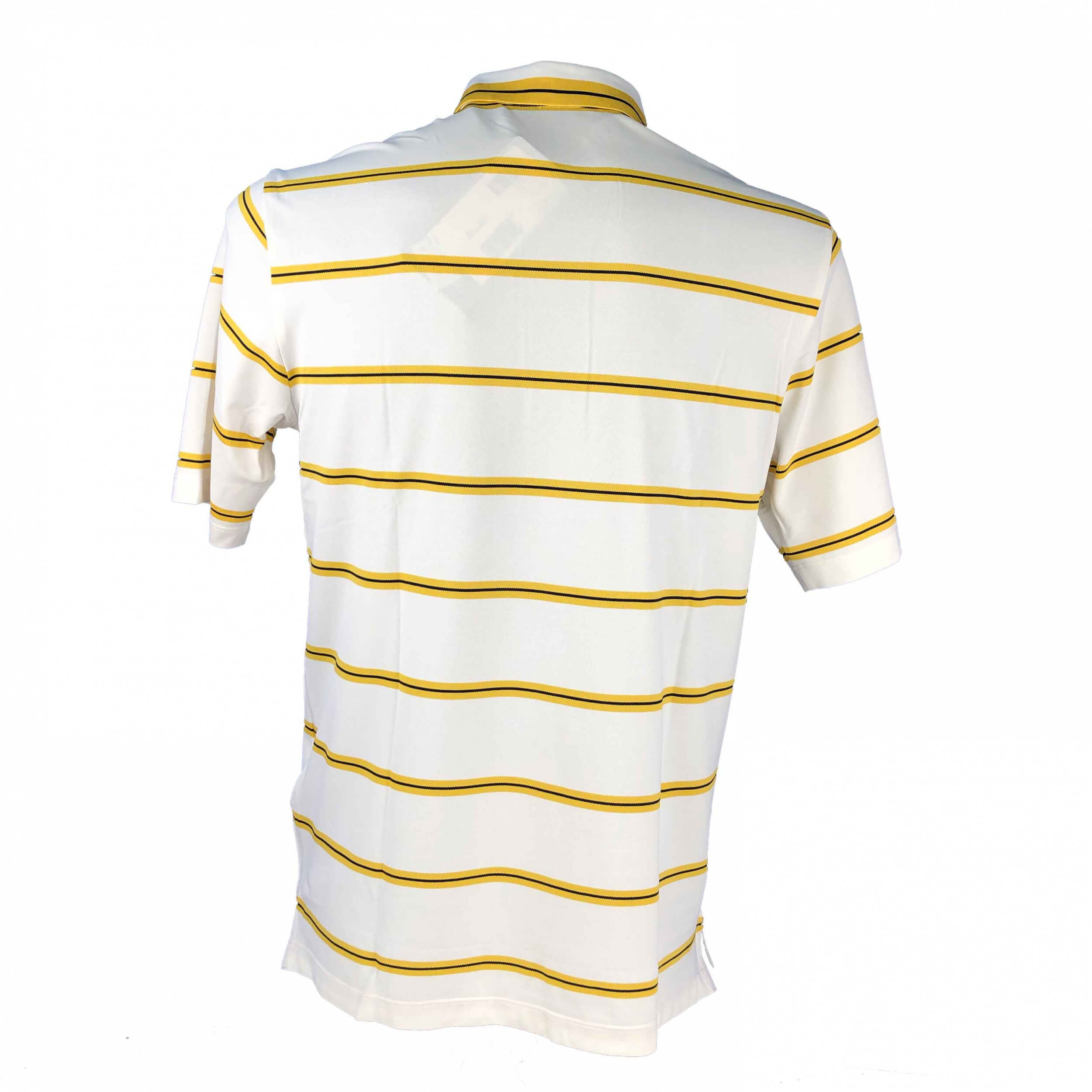 Chervo Herren Polo Abruzzo DRY MATIC weiß gelb 29B neu
