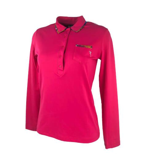 Chervo lang Arm Damen Polo Alize SUN BLOCK pink 742 neu