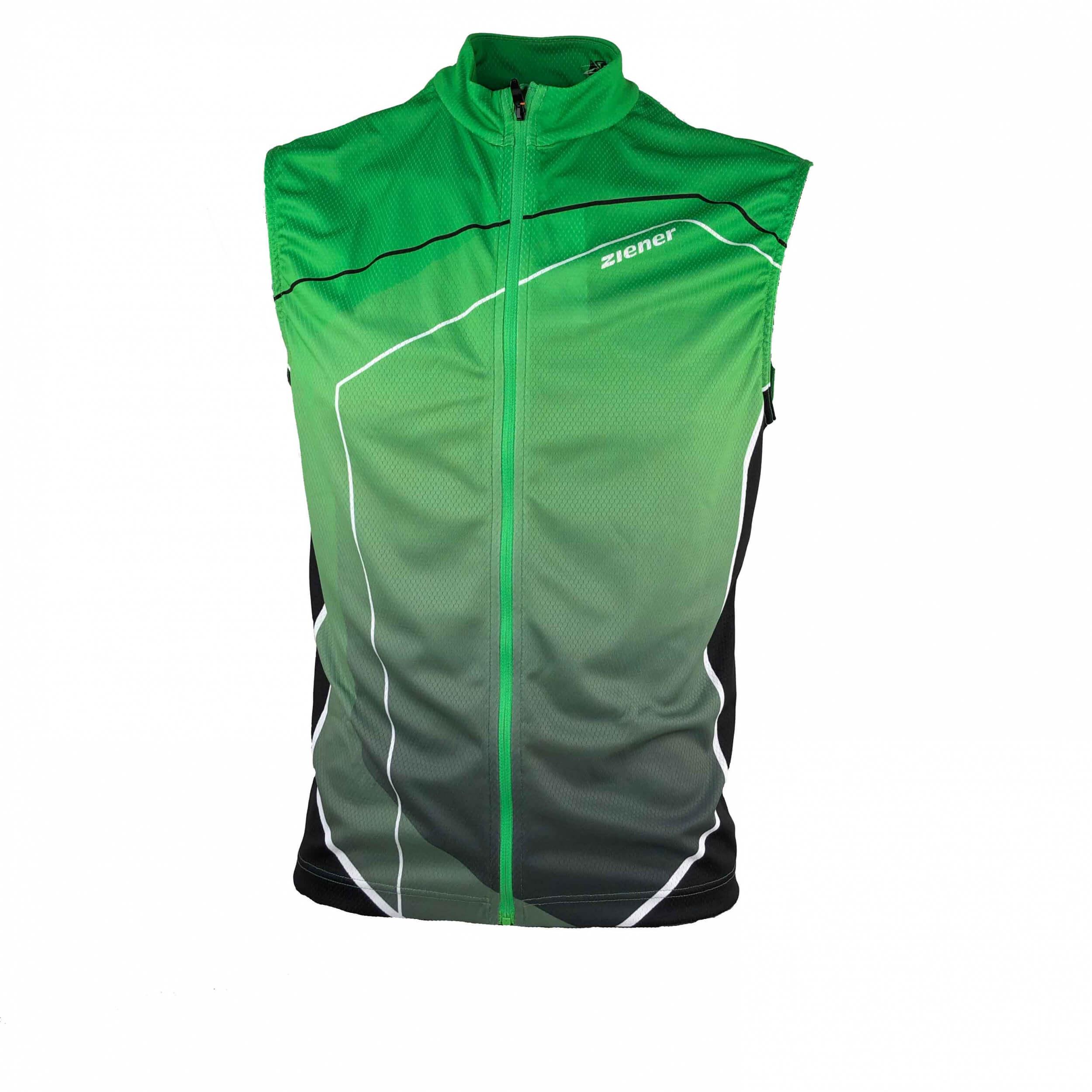 ZIENER Herren Bikeweste Caixia grün 746