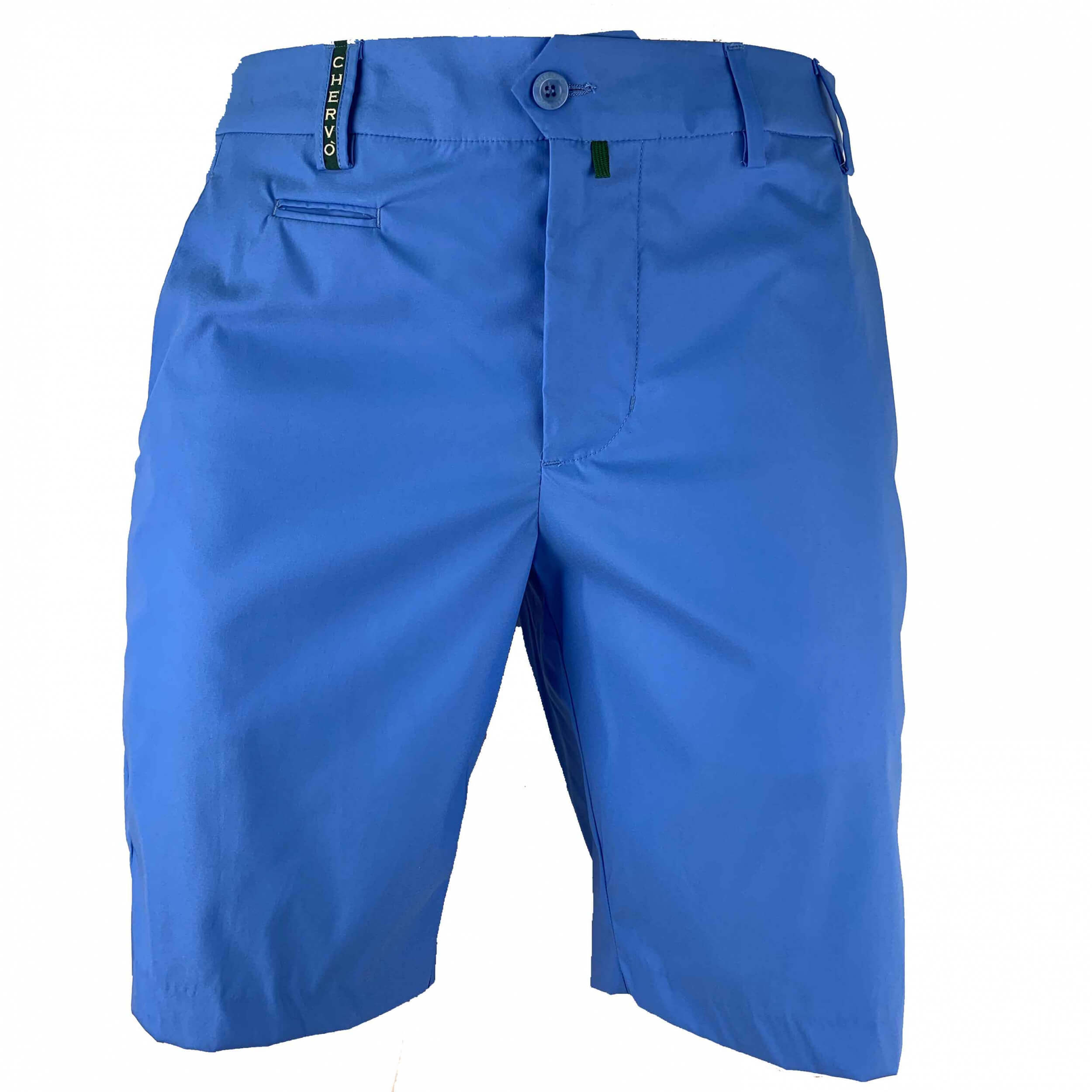 ad3c79ee17432 Details zu Chervo Golf Herren Short kurze Hose DRY MATIC Garcia blau 532  2.Wahl