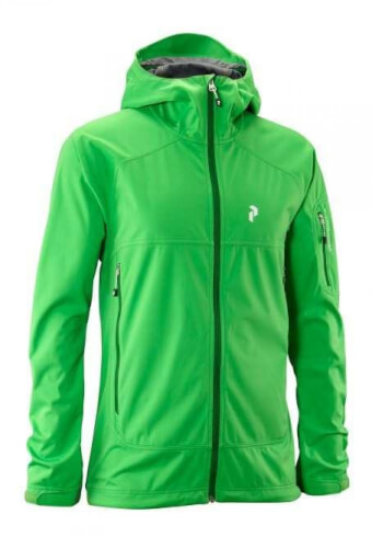 Peak Performance Herren Softshell-Jacke Aneto grün 4R7