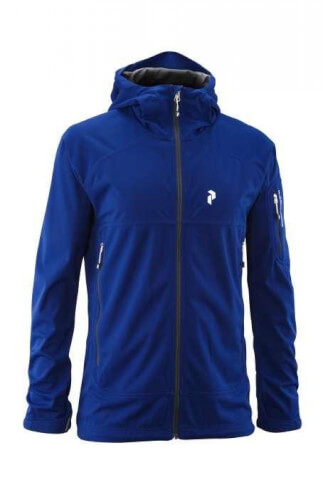 Peak Performance Herren Softshell-Jacke Aneto blau 26T