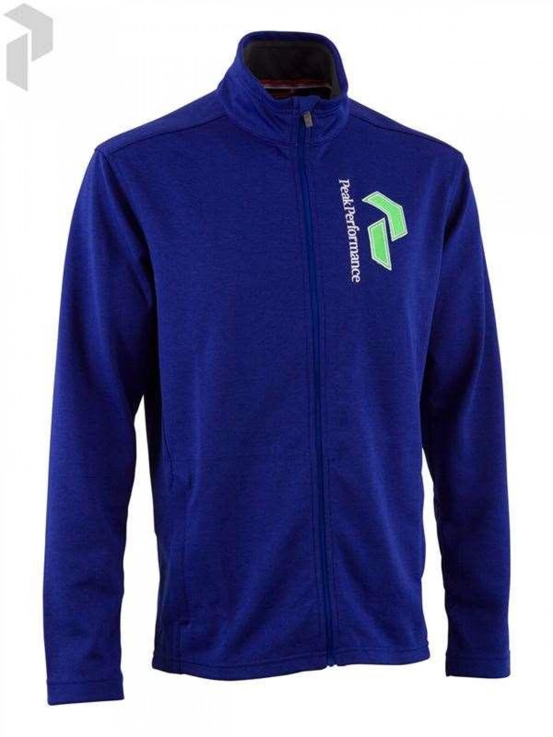 Peak Performance Herren Sweat-Jacke G BIRN.MID blau 26T