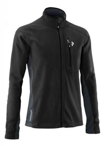 Peak Performance Herren Fleecejacke Lead schwarz 050