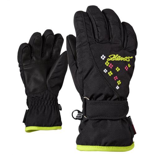ZIENER Kinder Handschuhe Limonia Girls schwarz 12
