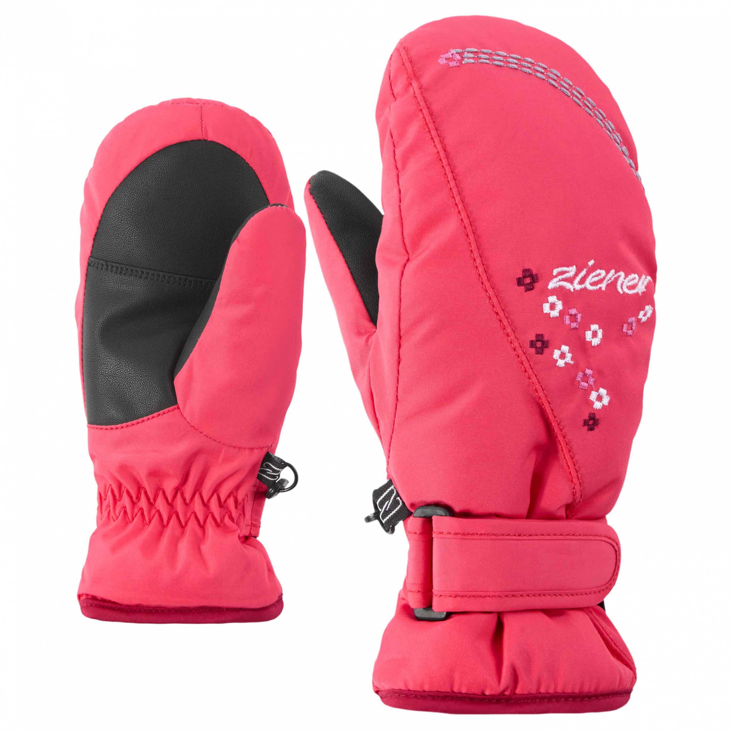 ZIENER Kinder Fäustlinge Lisyo Girls pink 962