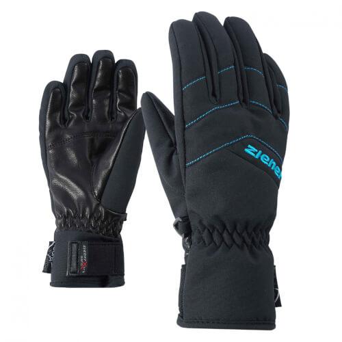 ZIENER Kinder Handschuhe AQUASHIELD Lilli schwarz 12