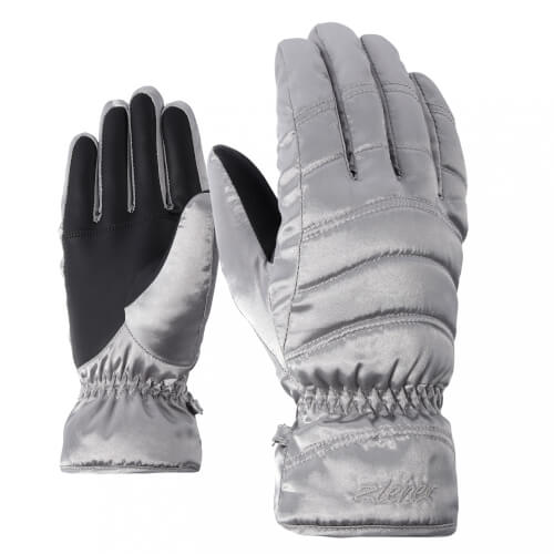 ZIENER Damen Ski Handschuhe Kamira silber 166