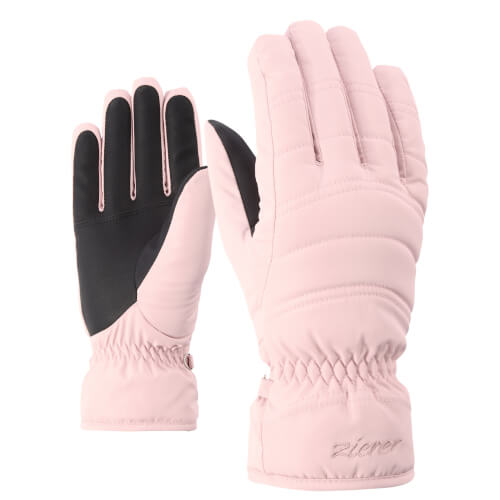 ZIENER Damen Ski Handschuhe Kamira rose 212