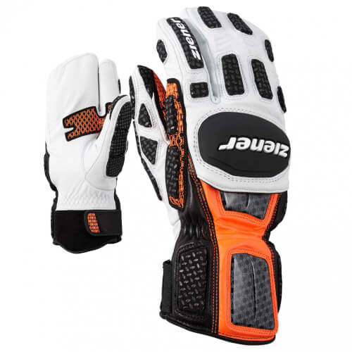 ZIENER Ski Race Handschuhe GS TECHNIK Lobster orange 738