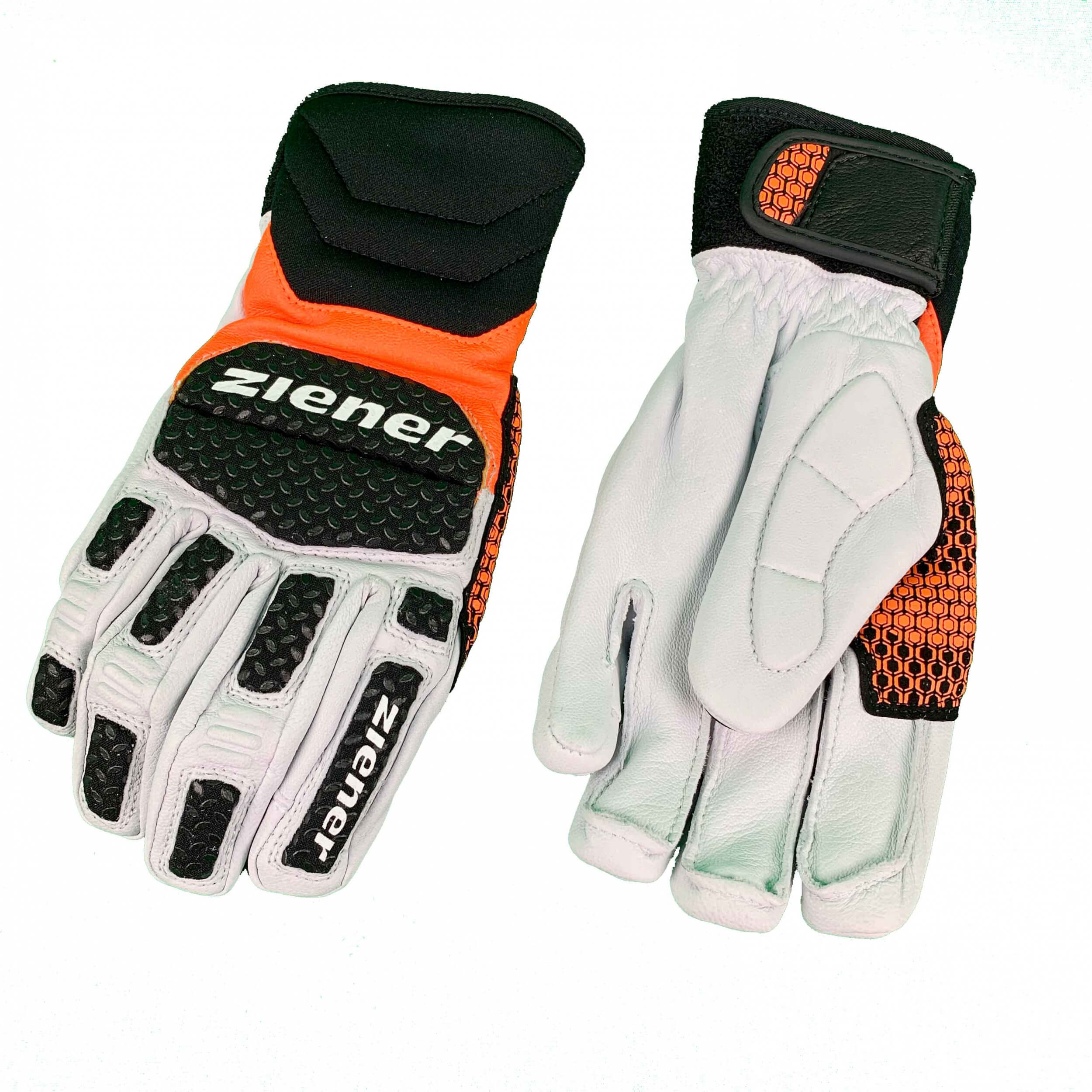 ZIENER Ski Race Handschuhe SPEED LIGHT orange 738