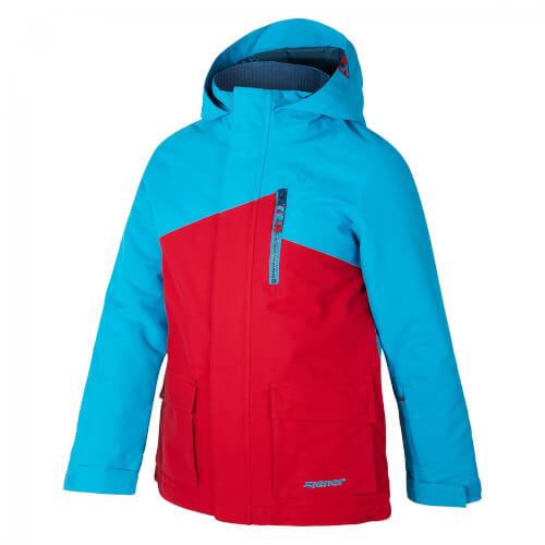 ZIENER Kinder Skijacke Arian rot blau 968