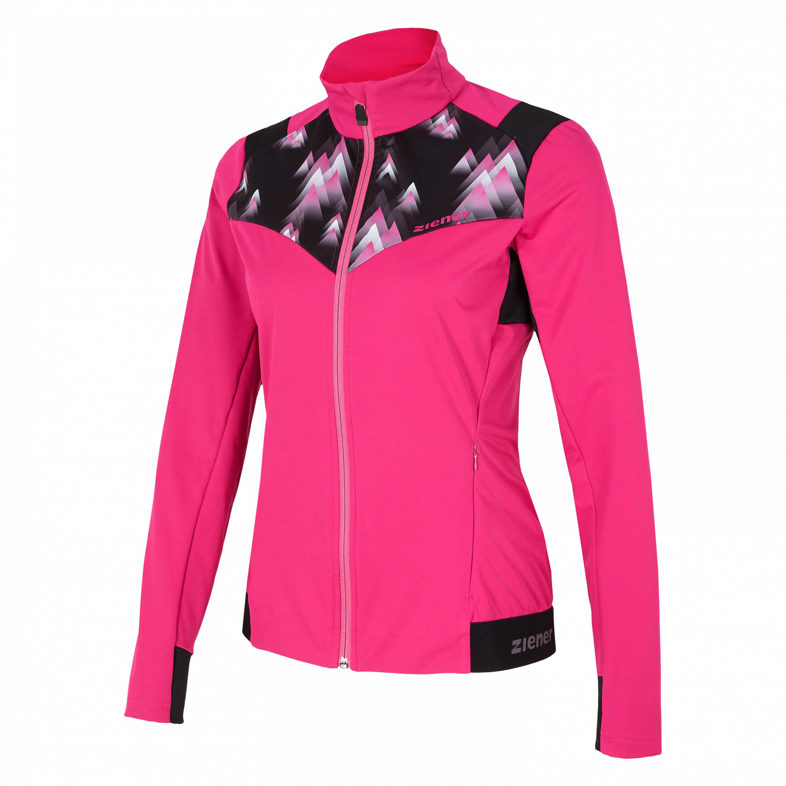 ZIENER Damen Softshell Jacke Narit pink 861
