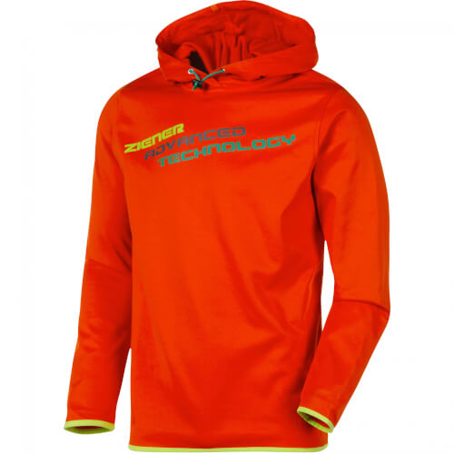 ZIENER Herren Hoodie Judge orange 421