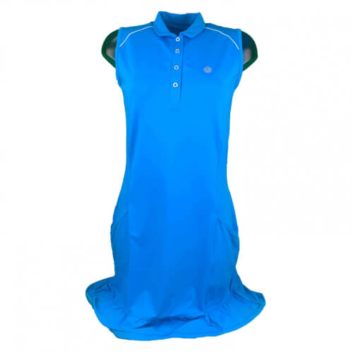 Chervo Damen Kleid Japur Sun Block royal blau 2.Wahl