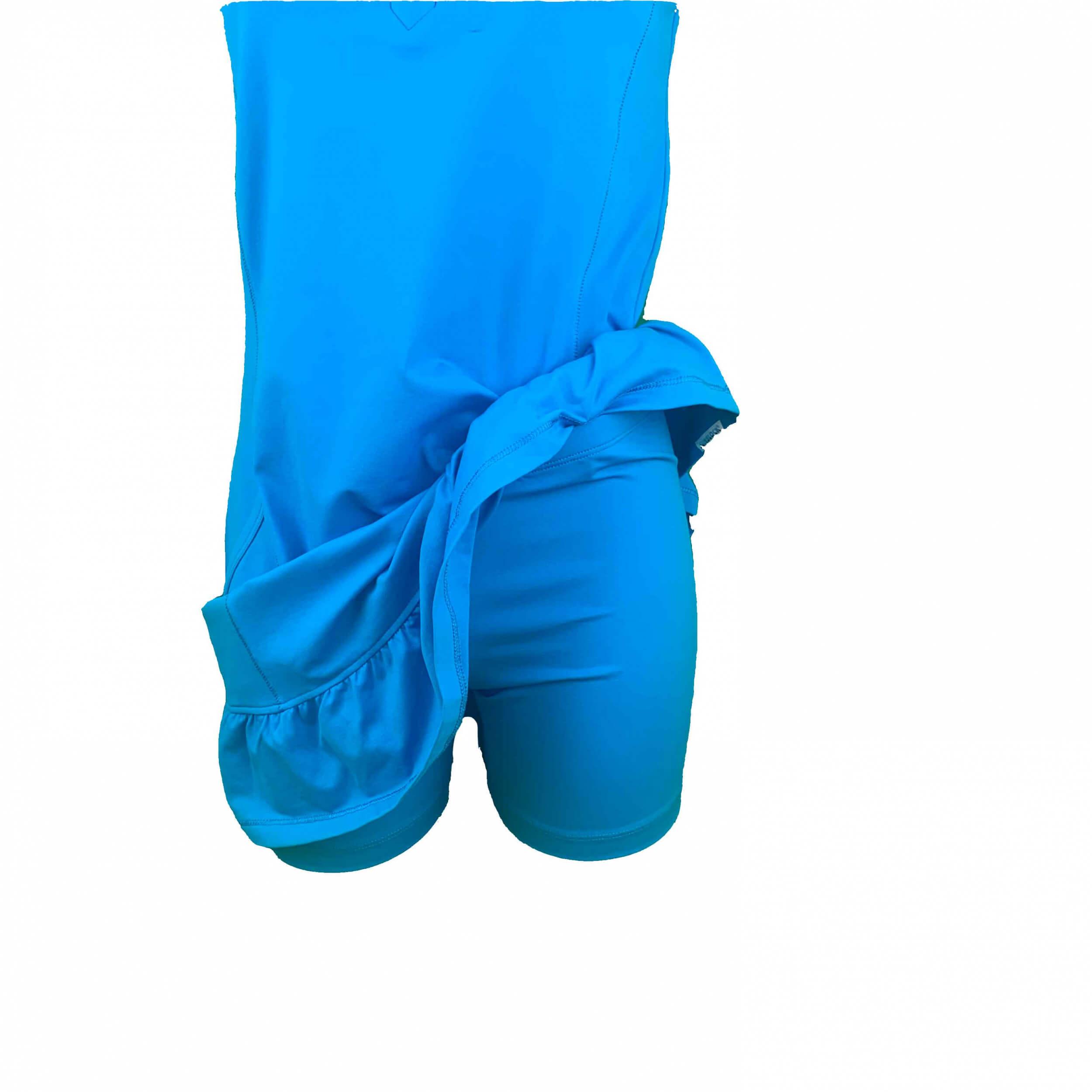 Chervo Damen Kleid Japur Sun Block royal blau 2.Wahl