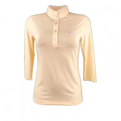 Chervo Damen Polo Adria Sun Block gelb 2.Wahl