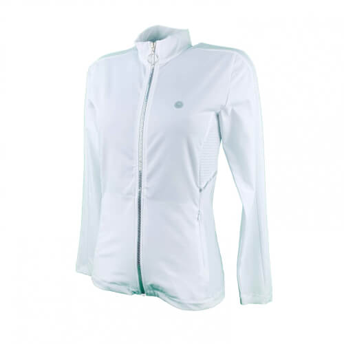 Chervo Damen Sweatshirt Jacke Pastrengo DRY MATIC weiß 2.Wahl