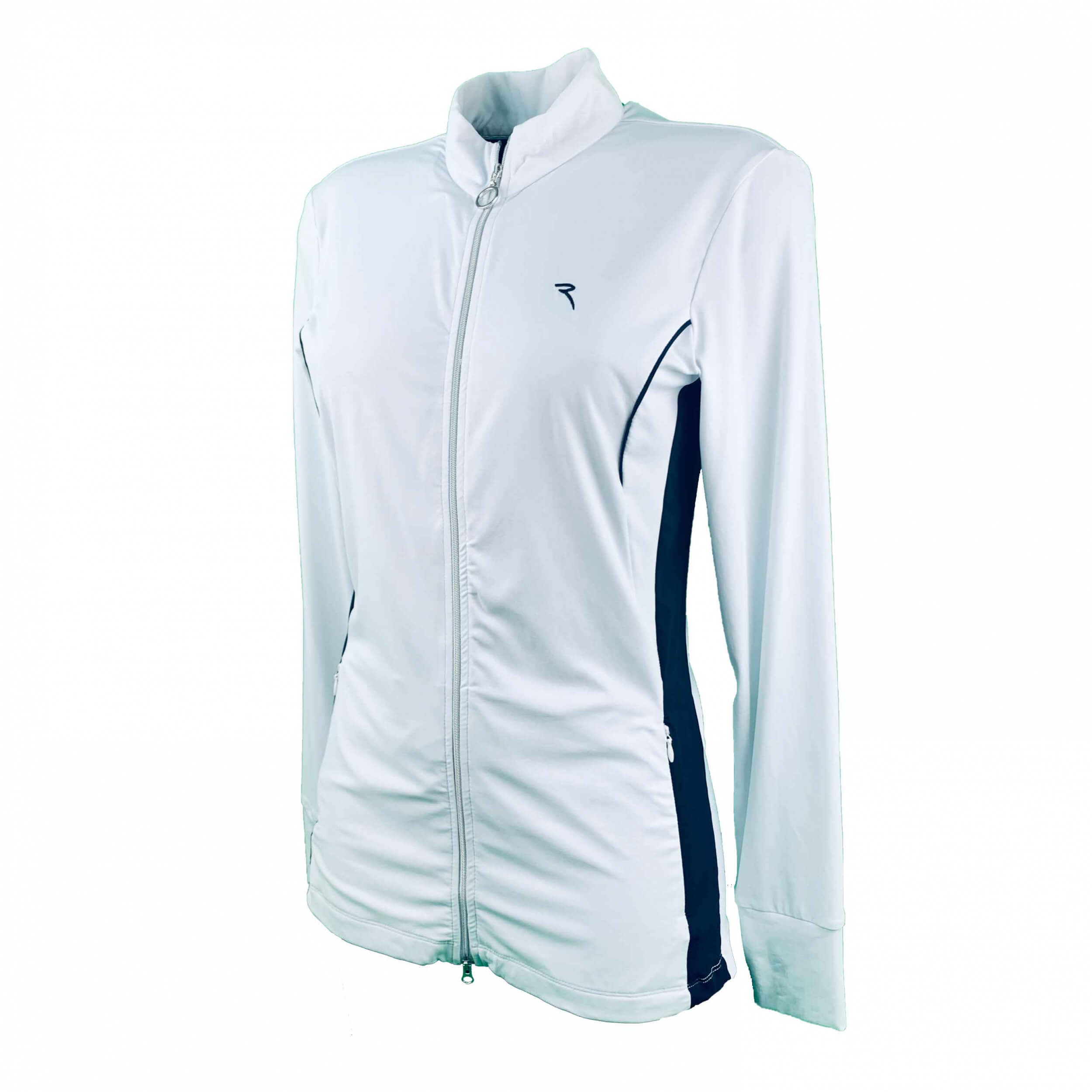 Chervo Damen Sweatshirt Jacke Passel Sun Block weiß 2.Wahl