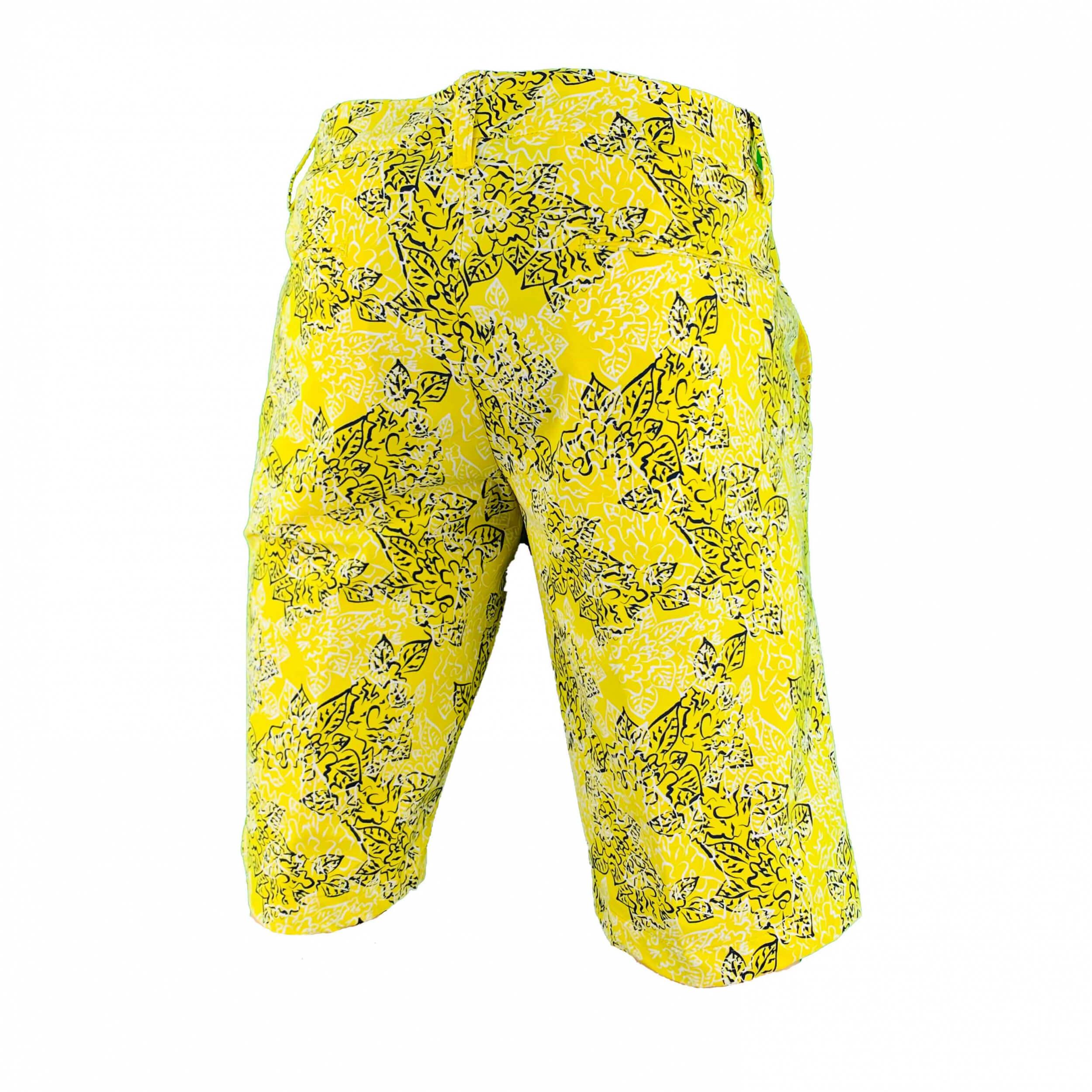 Chervo Herren Short Gaudenzio DRY MATIC gelb gemustert 56B