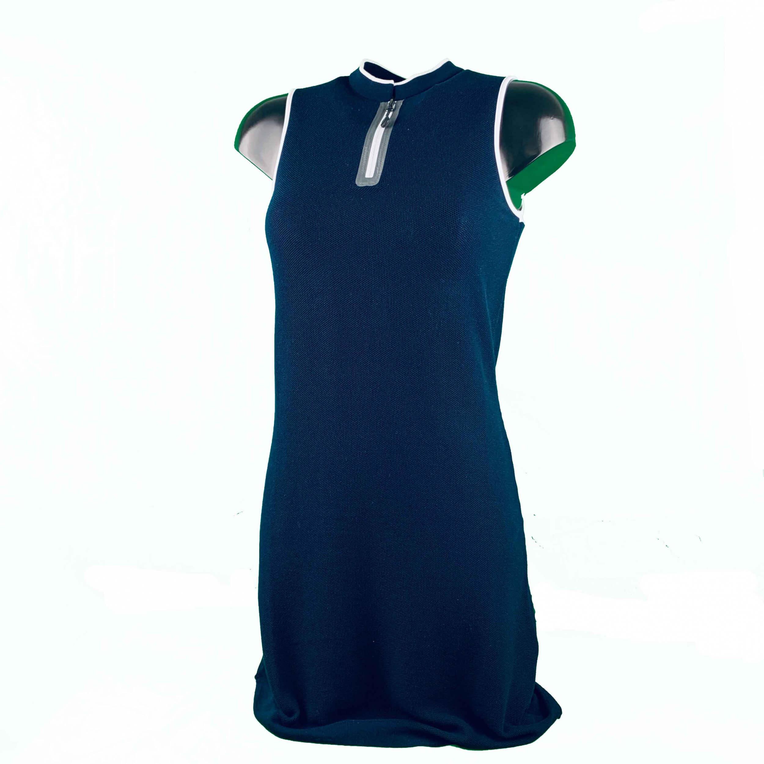 Chervo Damen Strick-Kleid S17782013 navy 2.Wahl