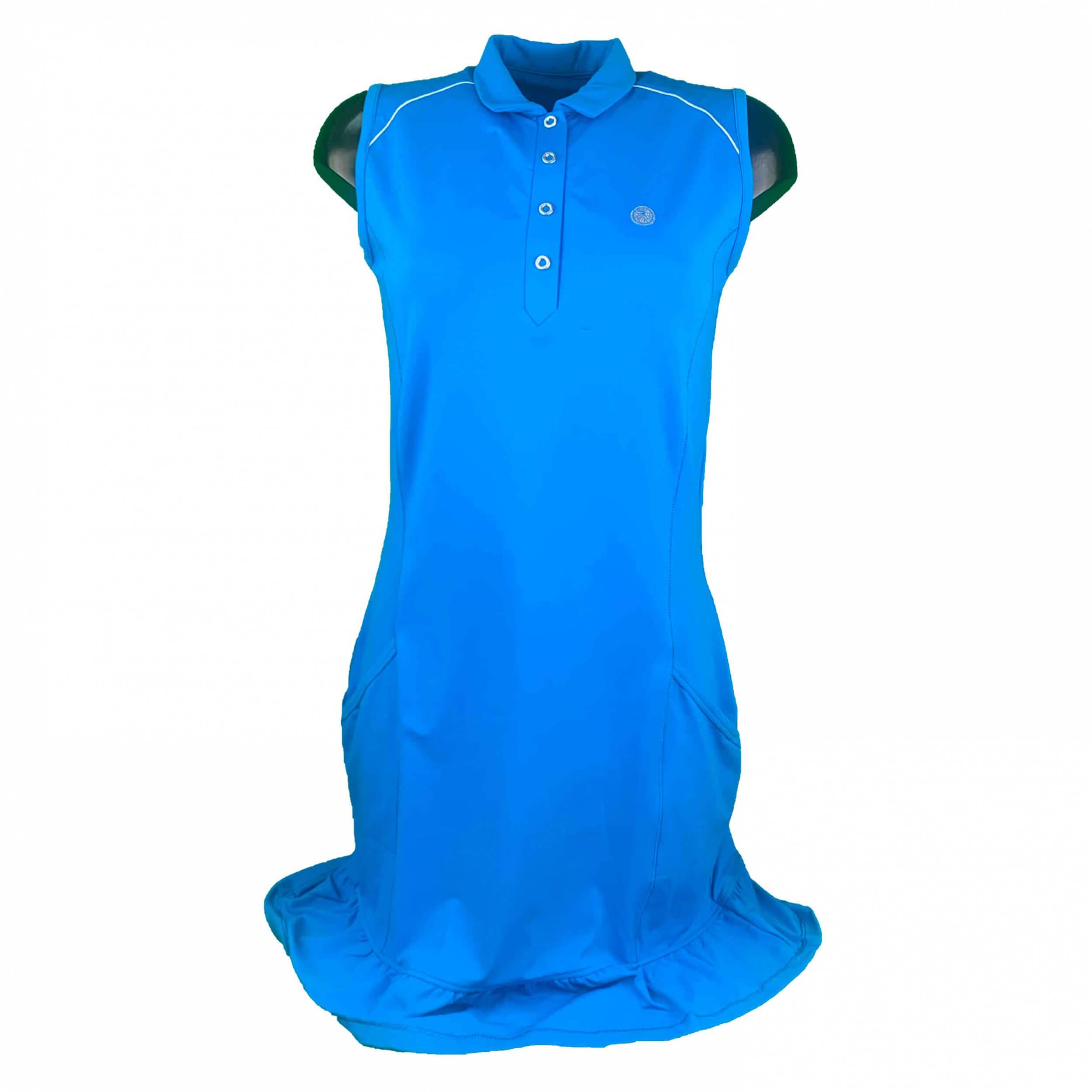 Chervo Damen Kleid Japur Sun Block royal blau ohne Hose 2.Wahl