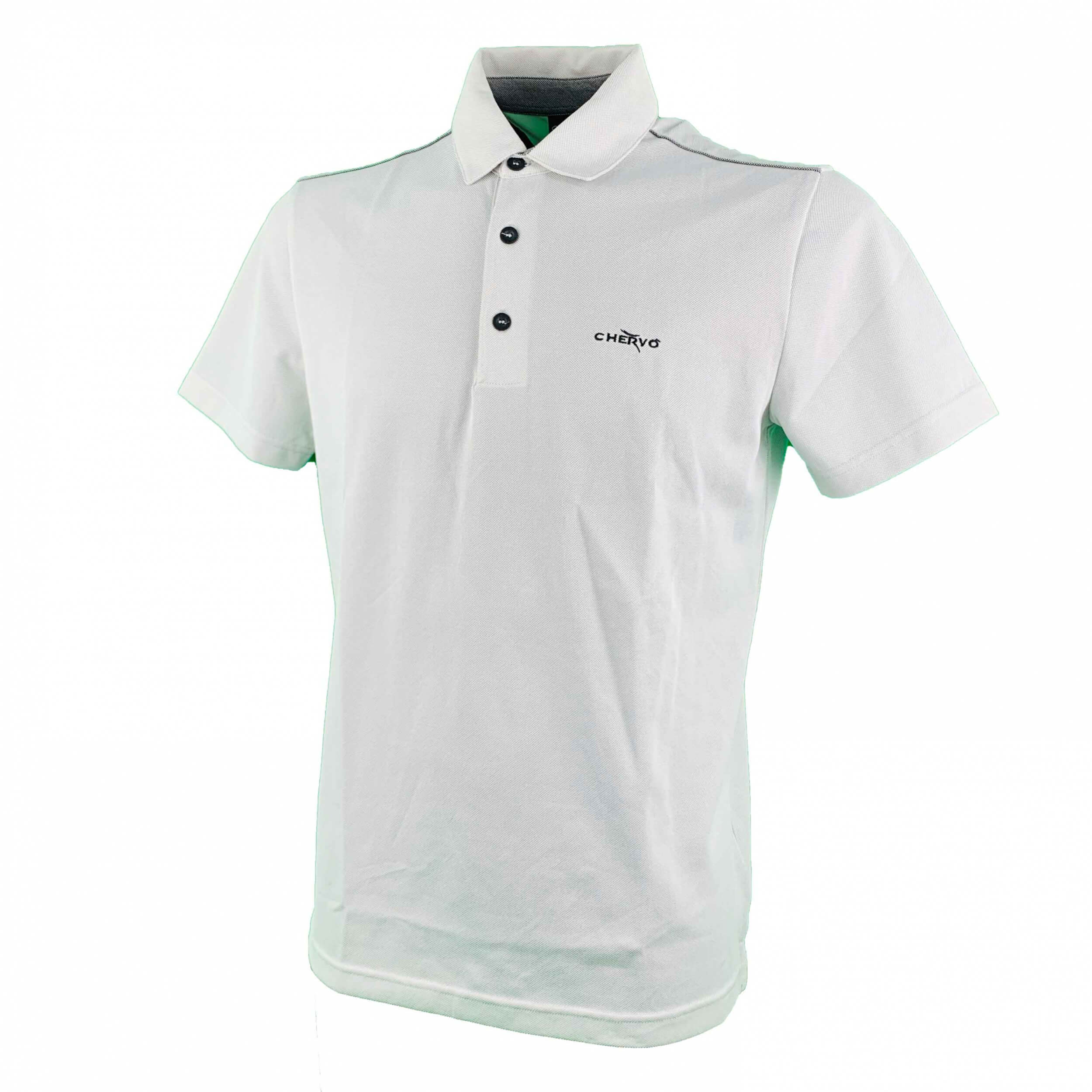 Chervo Herren Polo Agosti POWER MATIC hellgrau 97A