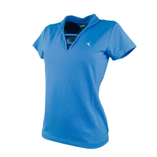 Chervo Damen Polo Alectra DRY MATIC blau 507