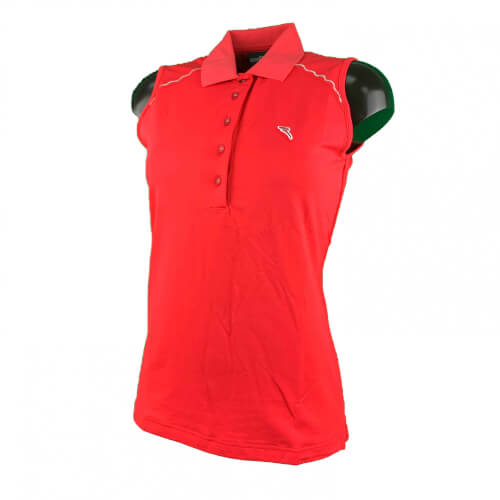 Chervo Damen Polo Top Allycia SUN BLOCK rot 725