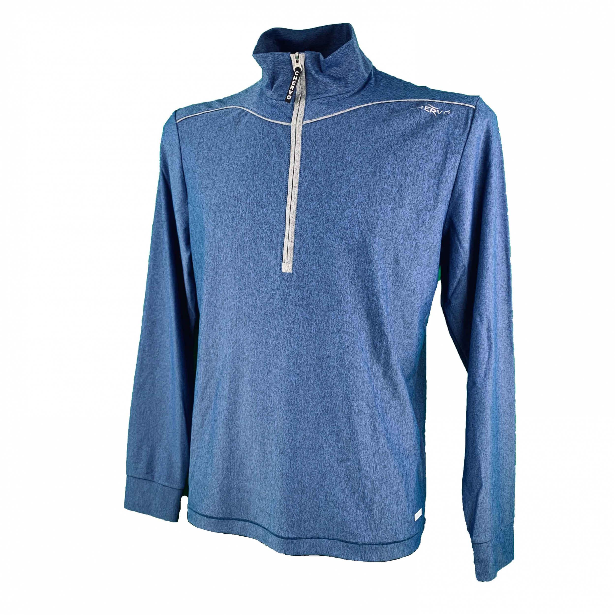 Chervo Herren leichtes Shirt Pollon SUN BLOCK blau 65E