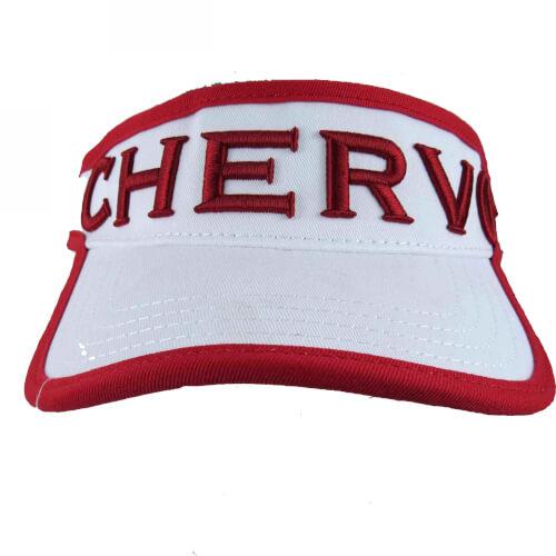 Chervo Visor Sonnenschild Cap Vogel weiß 100
