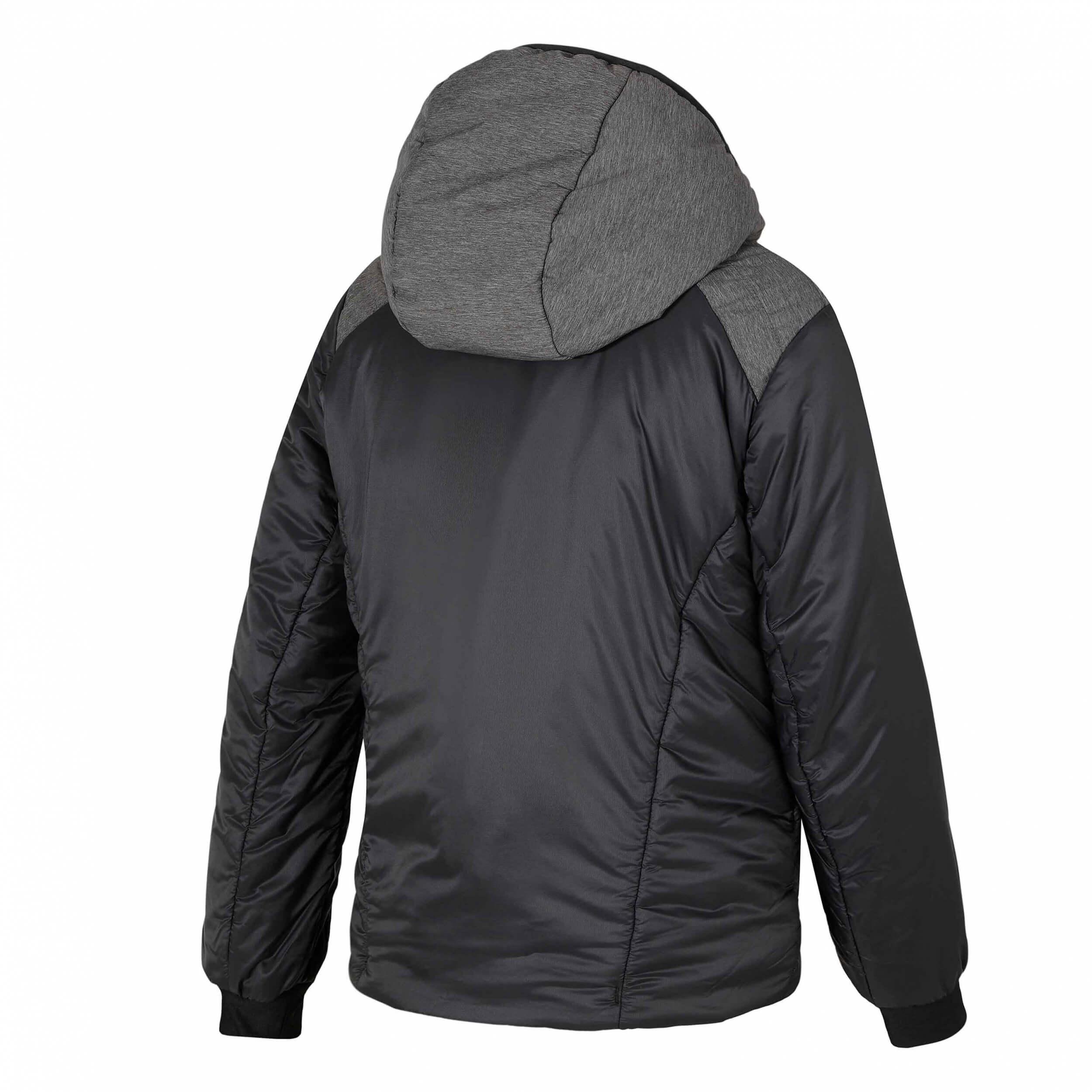 ZIENER Kinder Wärmejacke Jolo WINDSHIELD grau schwarz 12817