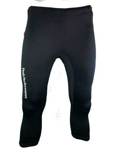 Peak Performance Herren kurze Lauf Hose Tight Lavvu 411A schwarz