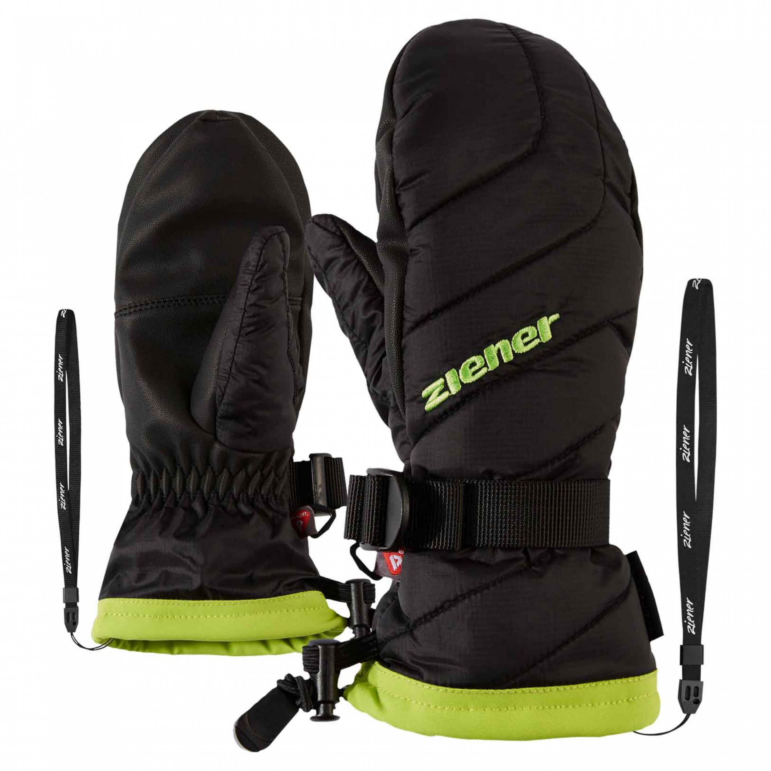 ZIENER Kinder Ski-Handschuhe Lowik AQUASHIELD schwarz 12