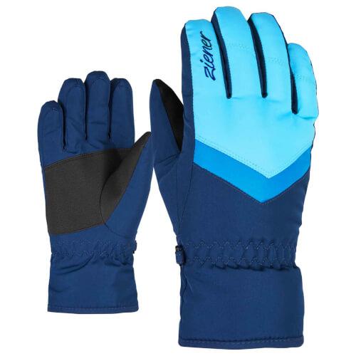 ZIENER Kinder Ski-Handschuhe Landala blau 960143