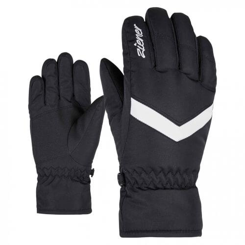 ZIENER Kinder Ski-Handschuhe Landala schwarz 12