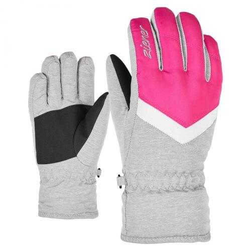 ZIENER Kinder Ski-Handschuhe Landala pink 766823