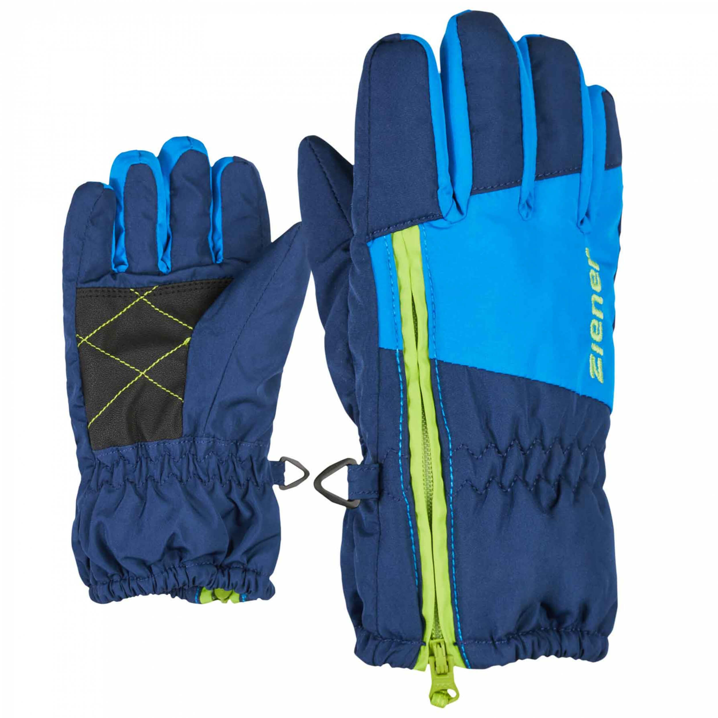 ZIENER Kinder mini Handschuhe LUDO blau 143