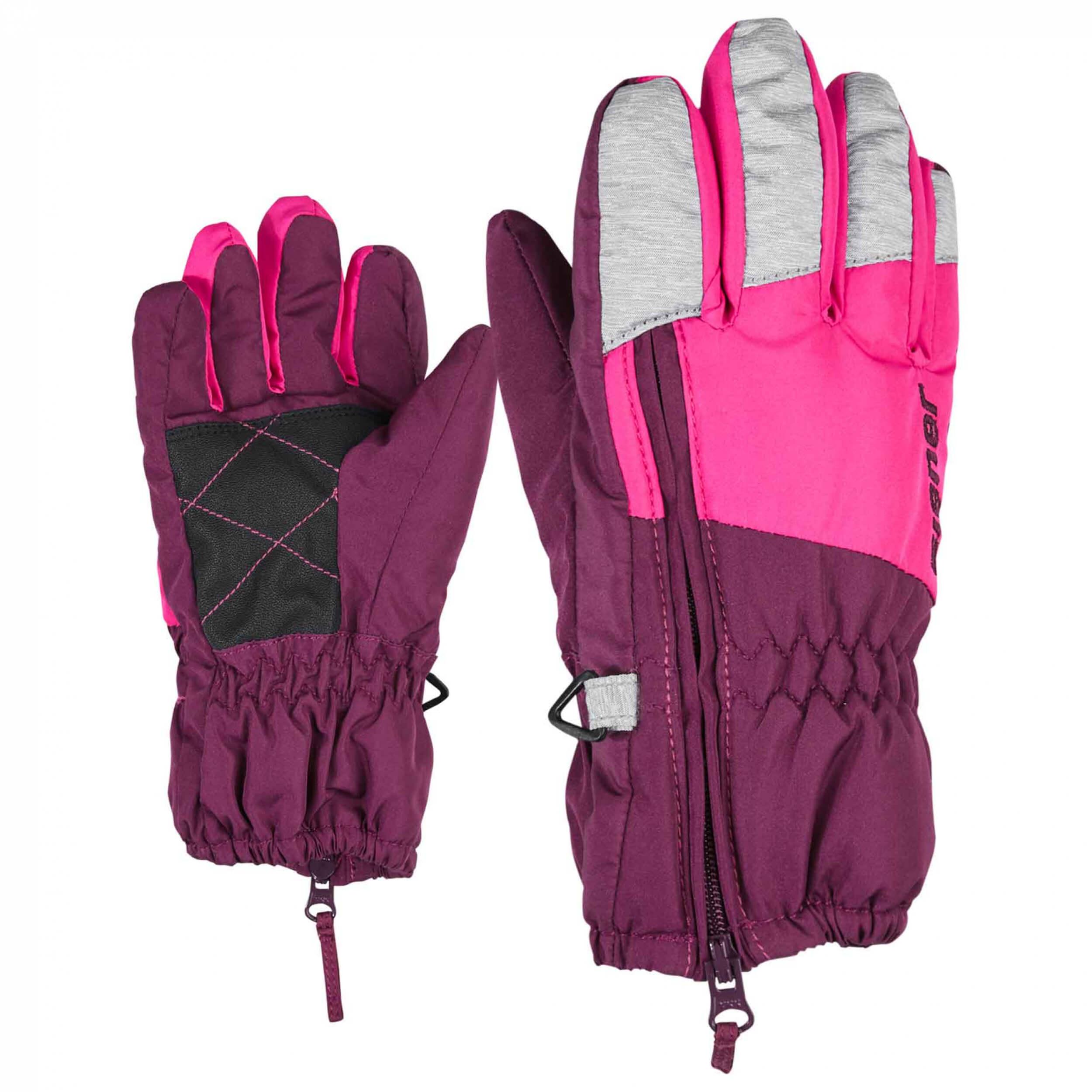ZIENER Kinder mini Handschuhe LUDO Beere 863