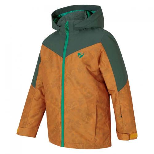 ZIENER Kinder Skijacke Avan AQUASHIELD braun 938