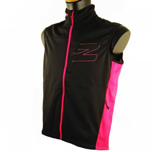 ZIENER Softshellweste RCE WINDSHIELD schwarz pink